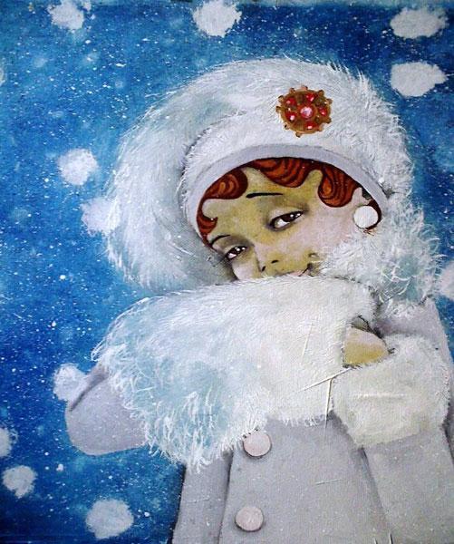 """Картина """"Снегопад"""""""