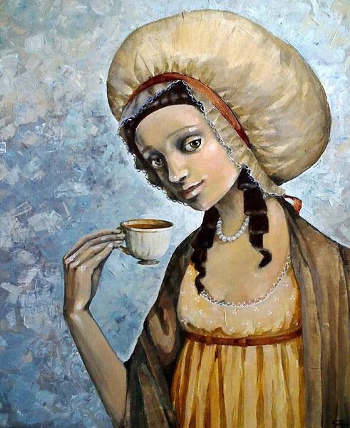 """Картина """"Чашка чая"""""""