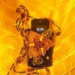 Сумочка для мобильного телефона Лилия