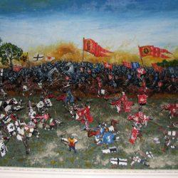 Диарама «Битва при Грюнвальде»