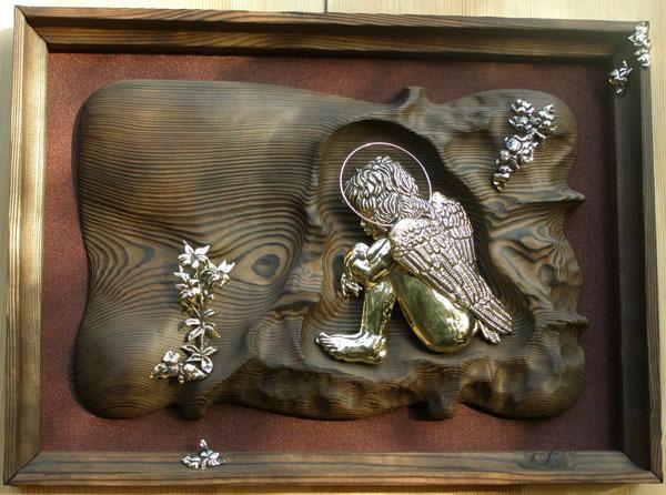 Панно Ангел хранитель