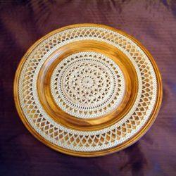 Блюдо Византийский узор