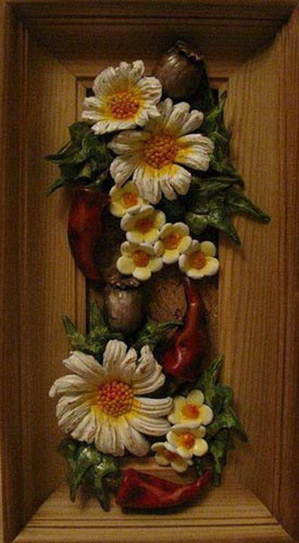 Панно Осенняя композиция с перчиком