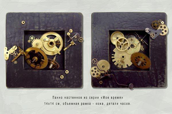 Диптих-панно «Моё время»