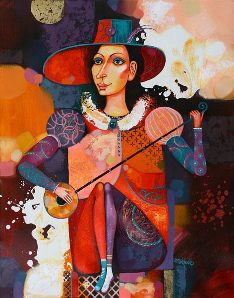 """Картина """"Музыкант"""", 2010 г."""