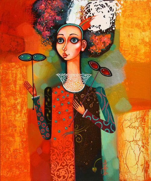 """Картина """"Маскарад"""", 2010 г."""