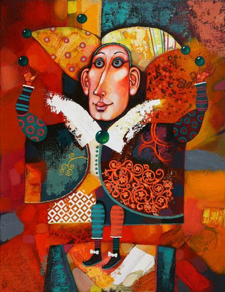 "Картина ""Жонглер"", 2010 г."