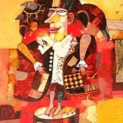 """Картина """"Шут"""", 2009 г."""