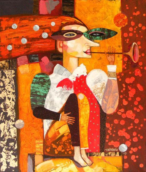"""Картина """"Музыкант"""", 2009 г."""