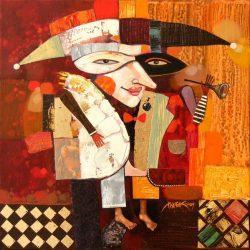 """Картина """"Клоун"""", 2009 г."""