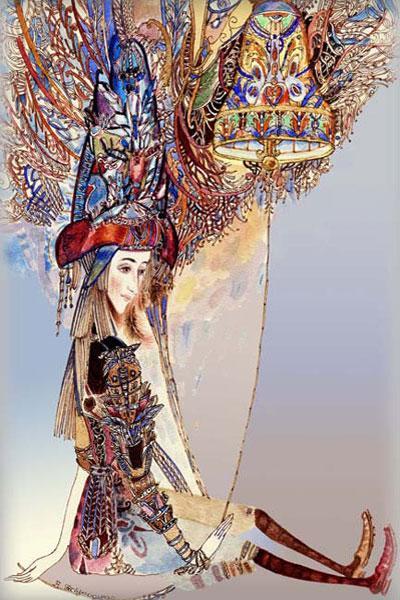 Картина «Колокол» 2010г