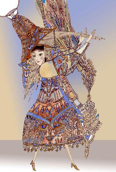 Картина «Колокольчик». 2010г