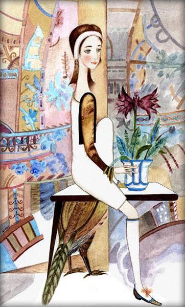 Картина «Хвост фазана» 2007г