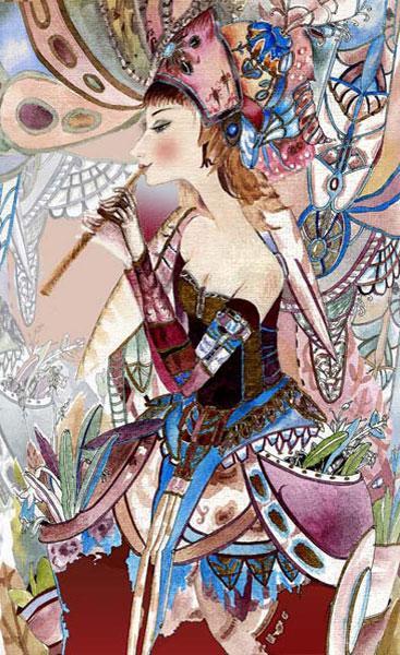 Картина «Флейта» 2008г