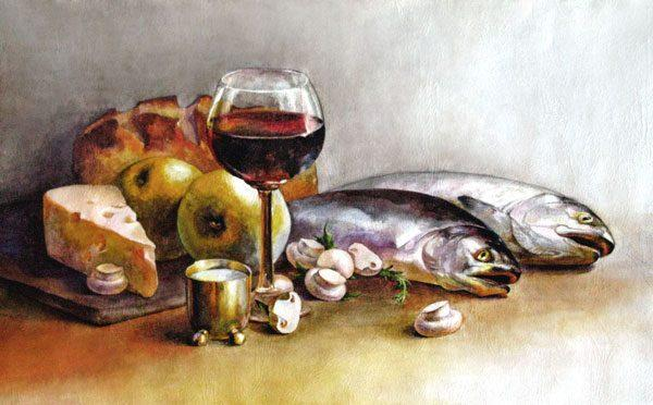 Картина Две рыбы
