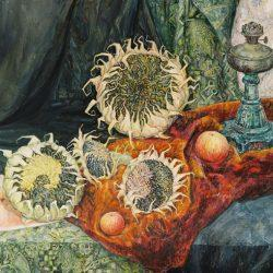 Картина Натюрморт с лампой