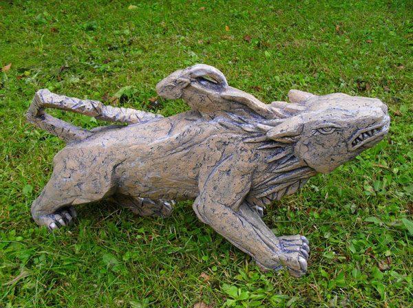 Скульптура для интерьера и экстерьера «Химера»