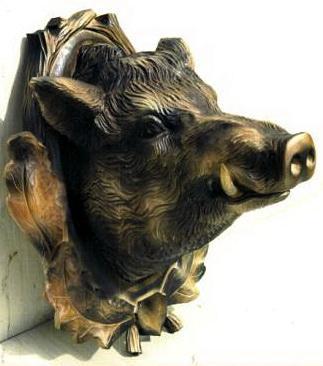 Панно Голова кабана