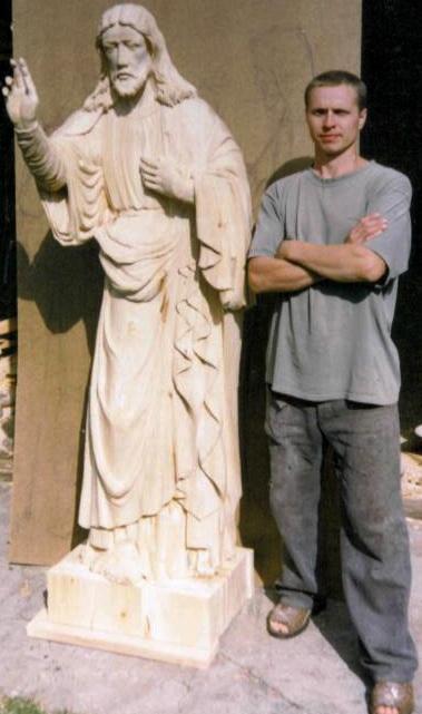 Скульптура  Христос