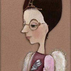 Картина Ангел за письмом 2005г.