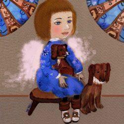 Картина Ангел с таксами