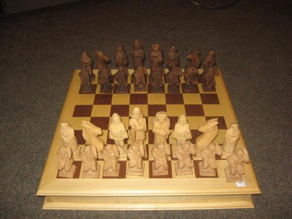 Шахматы Белорусская свадьба
