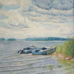 Картина После дождя, 2010г.