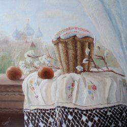 Картина Пасхальный натюрморт, 2011г.