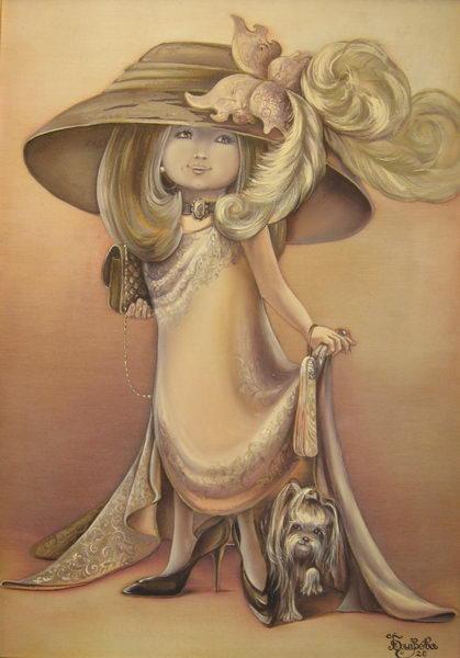 Картина «Шляпка 1»