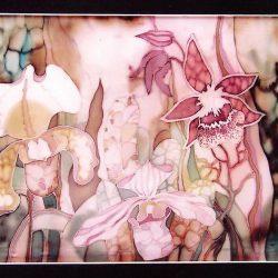 Диптих «Сад орхидей»