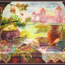 Натюрморт «Мирский замок»