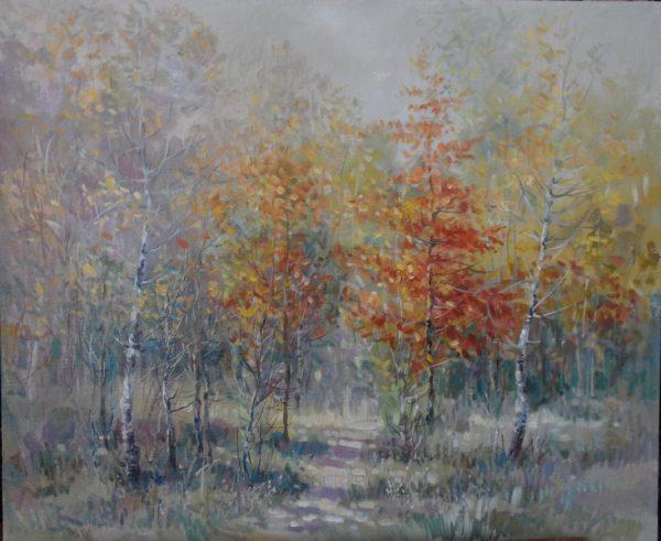 """Картина """"В  лесу"""""""