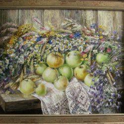 Картина Яблочный спас