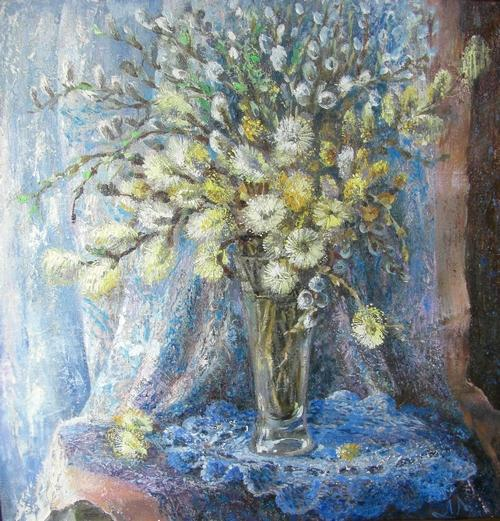 Картина Весенний натюрморт