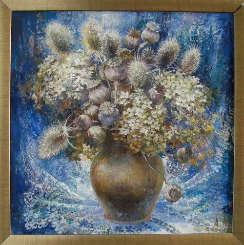Картина Зимние цветы