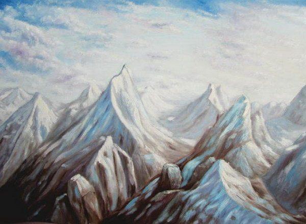 Картина Вершины 2011