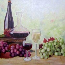Картина Натюрморт с виноградом 2011