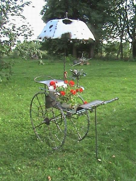Колесница (садовый дизайн)