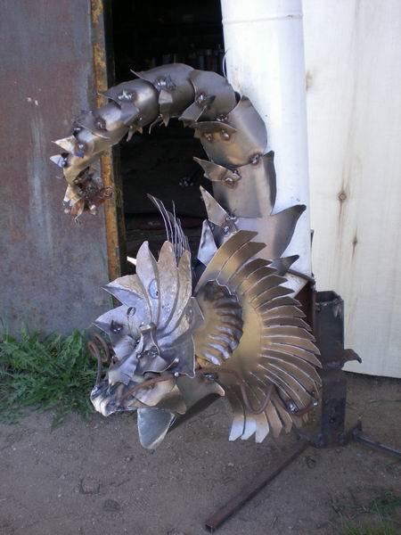 Водосток-дракон