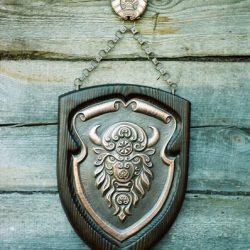 Панно «Белорусский зубр»
