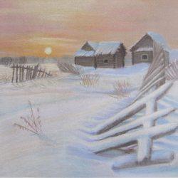 Картина Зима 2010