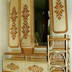 Мебель для прихожей из лозы