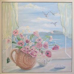 "Картина ""Окно на море"" 2012г."