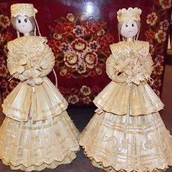 Белорусская кукла из соломки