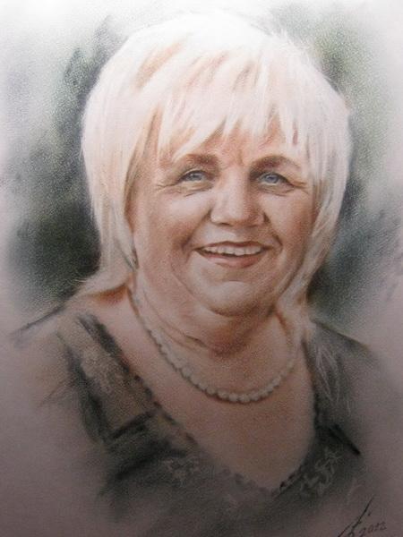 Картина Портрет цветной