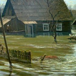 Картина Большая вода