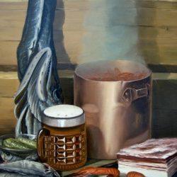 Картина Натюрморт с пивом