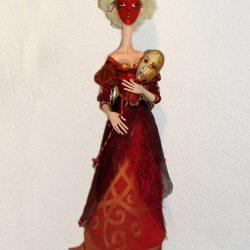 """Кукла """"Лице-действо"""""""