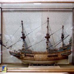 Корабль Галион ХVII в.