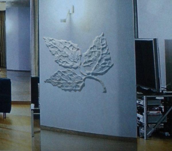Барельеф Стилизованный лист
